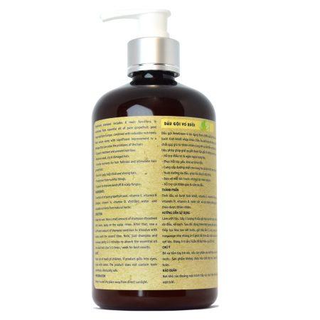Dầu gội vỏ bưởi trị rụng tóc AmeGreen - Premium