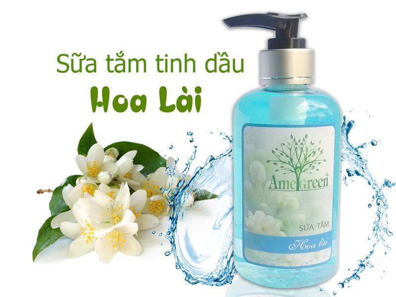 sữa tắm hoa lài ame green
