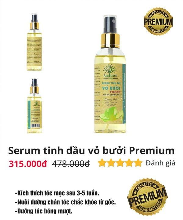serum tinh dầu vỏ bưởi amegreen