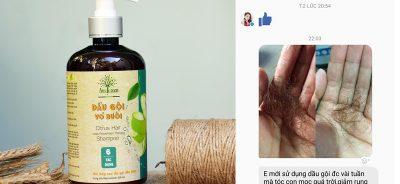dầu gội vỏ bưởi trị rụng tóc