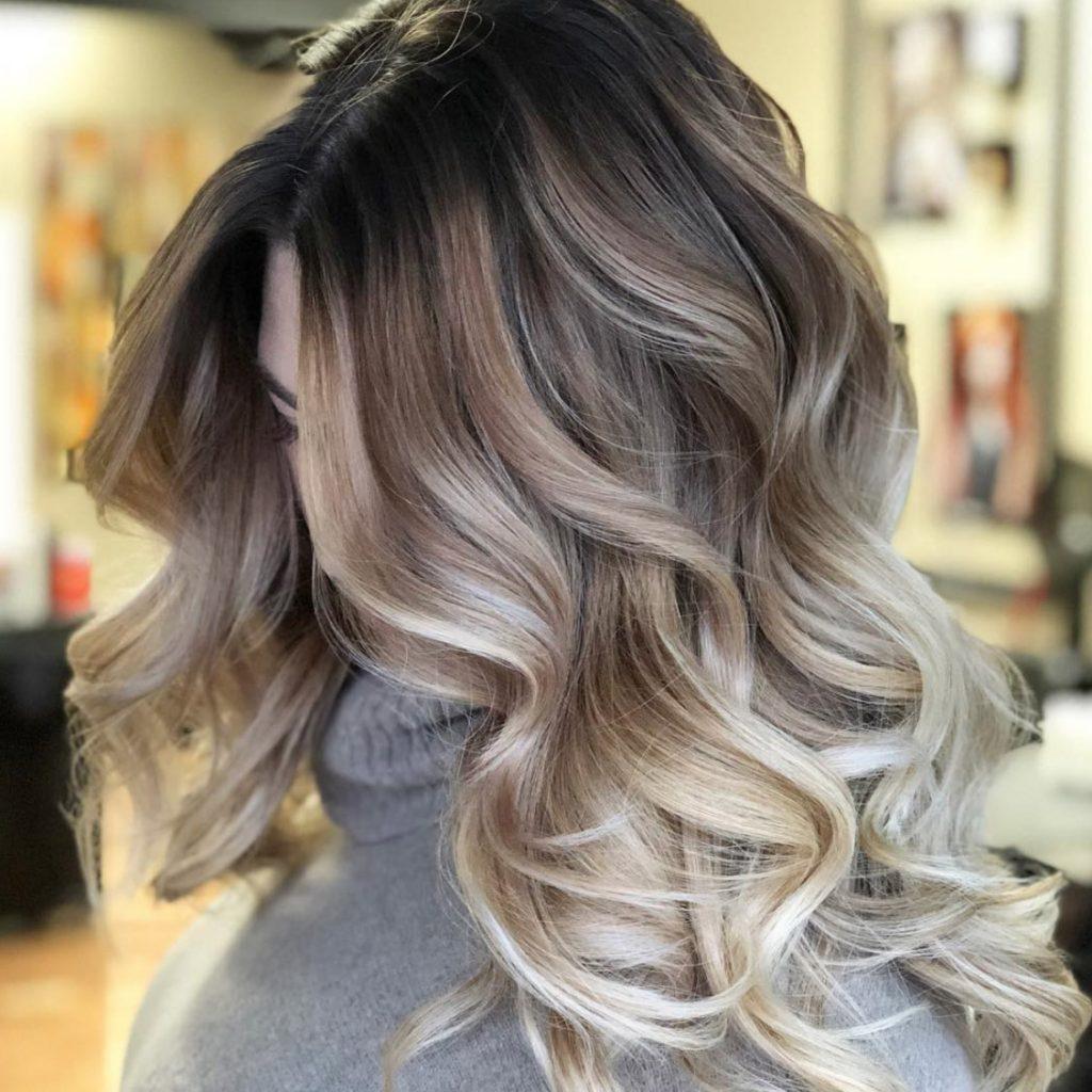 Kiểu tóc balayage dầu gội bưởi chia sẻ
