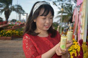 Tinh dầu bưởi AmeGreen chăm sóc và nuôi dưỡng nang tóc