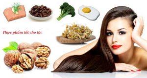 Những loại vitamin cần thiết cho tóc