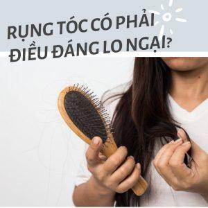 Rụng tóc có phải điều đáng lo ngại