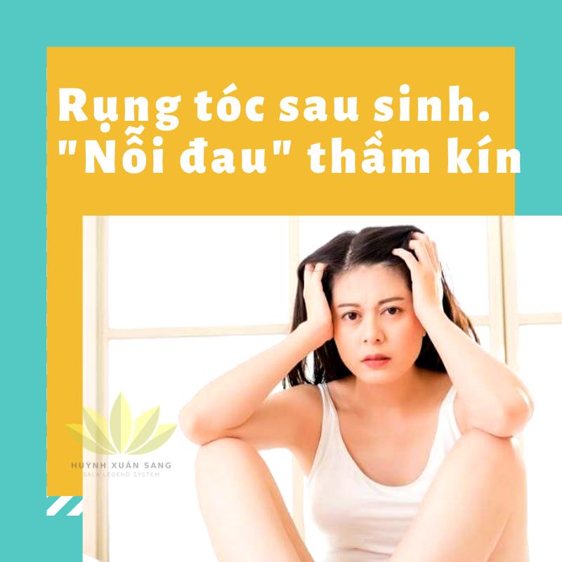 có cách nào trị rụng tóc sau sinh tại nhà