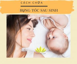 Cách chữa rụng tóc sau sinh