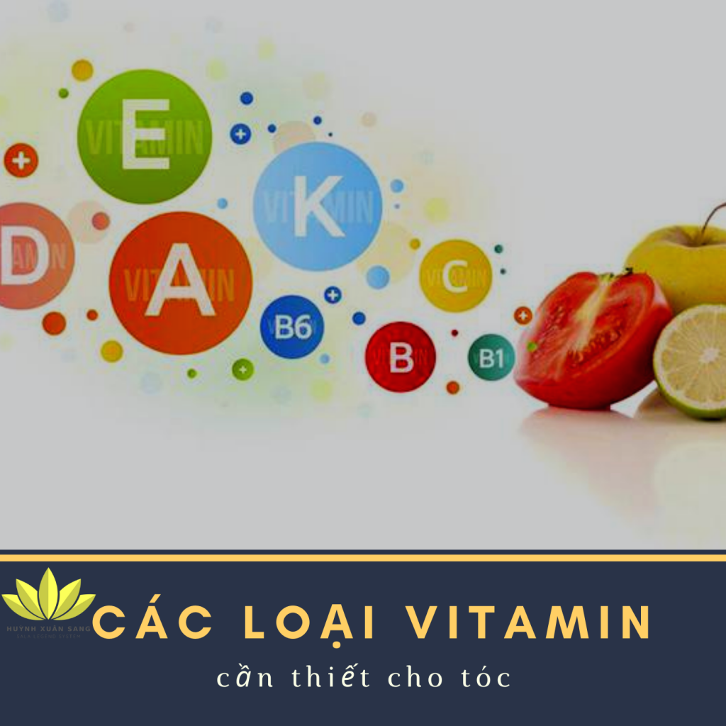 Các loại vitamin cần bổ để ngăn rụng tóc
