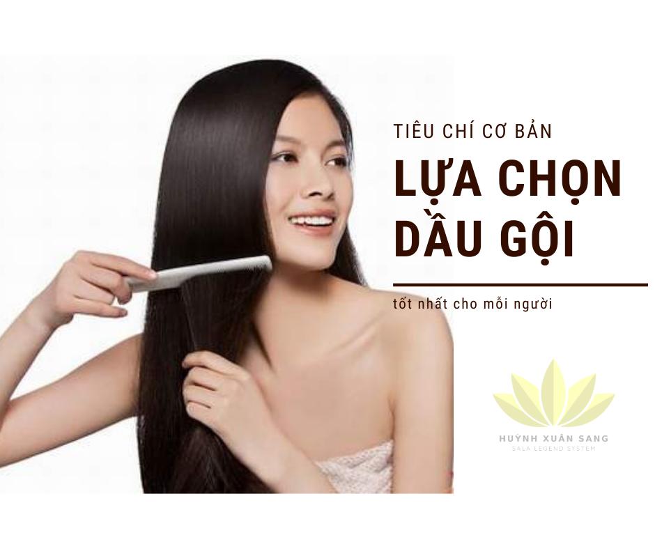 Tiêu chí lựa chọn dầu gội trị rụng tóc Việt Nam