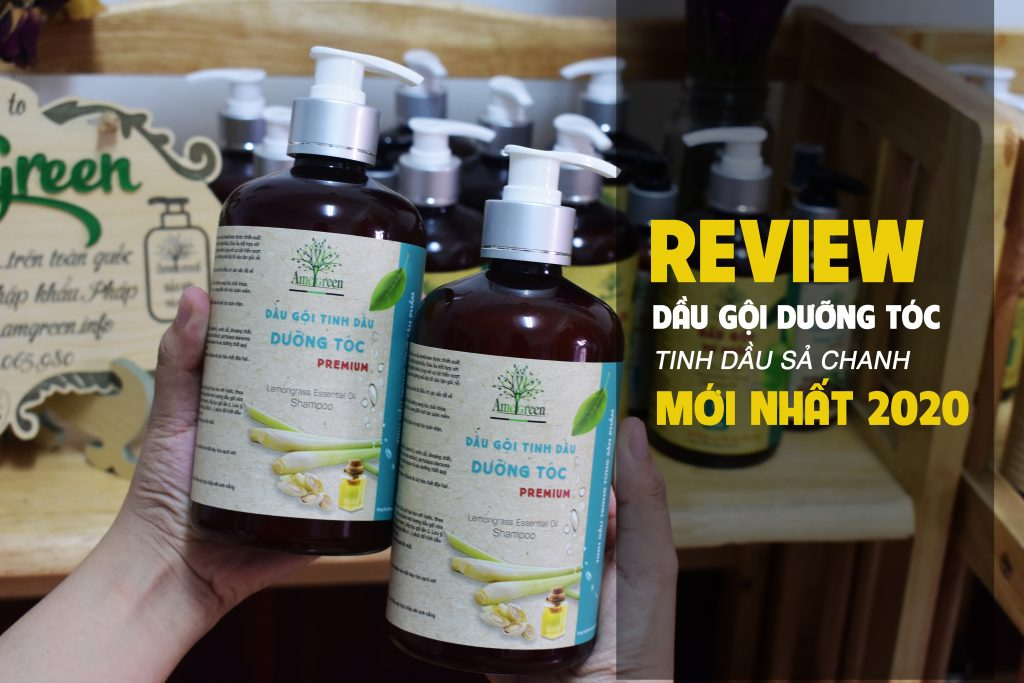Dầu gội dưỡng tóc tinh dầu sả chanh AmeGreen có tốt không?