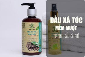 dầu xả tóc mềm mượt từ tinh dầu cà phê AmeGreen 250ml