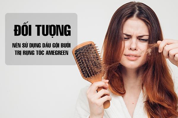Đối tượng nên sử dụng dầu gội bưởi trị rụng tóc AmeGreen